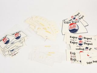 lARGE lOT OF SODA DECAlS