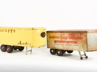 lOT OF 2 MINNITOYS TRAIlERS ONlY