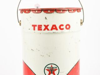 1967 TEXACO 5 IMPERIAl GAllONS OIl CAN