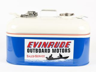 OUTBOARD MOTOR FUEl CAN  RESTORE EVINRUDE