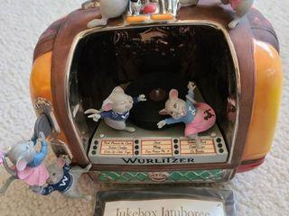jukebox jamboree musical figurine