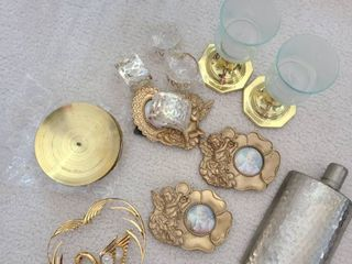 Miscellaneous Small Wares Candle holders  picture frames  napkin rings  and etc