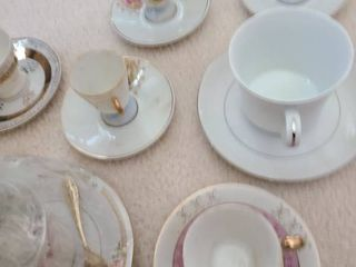 7 Sets of Tea Cup and Saucer