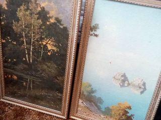 Wilderness Framed Art lot of 2