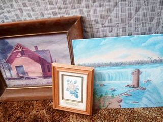 Assorted Wall Art lot of 3