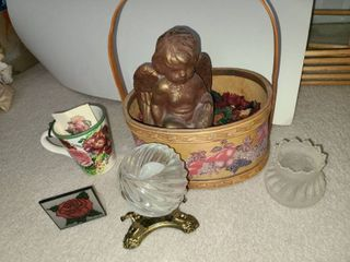 Various Rose and Angel Decor
