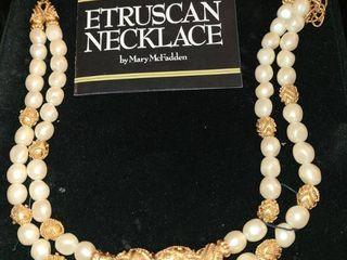 Mary McFadden Etruscan Necklace