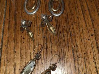 2 Tone Earrings