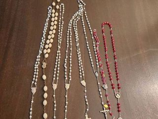 RElIGION  ROSARY Total of 8