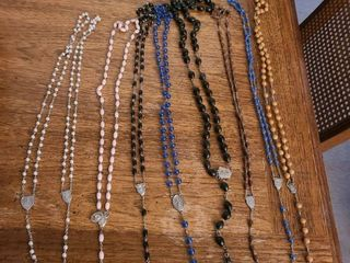 RElIGION  ROSARY  Total of 9