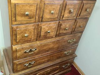 Wood Chest of 5 Drawers 48 x 38 x18 in