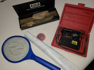 Brite Bore Gun Cleaning Kit with Various Garage Items