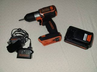 Black and Decker 20 V Cordless Drill with Charger and 1 Battery