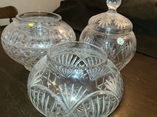 Polish Crystal Dishes