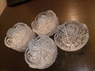 Glass Bowls lot of 8