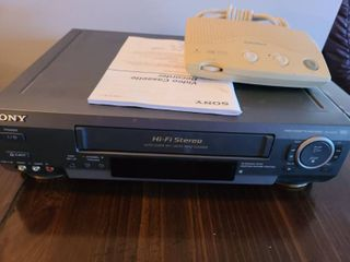 SONY VHS Player and RADIO SHACK Wireless Intercom
