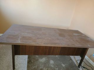 Office Desk  5 drawers   Approximately 30  tall 5 5 ft long