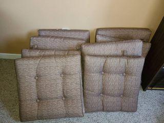 8 Outdoor Chair Cushions