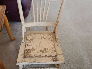 Small Childs Rocking Chair  31 x 16 x 28