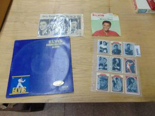 Elvis Trading Cards and Records