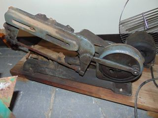Pulley Driven Hack Saw