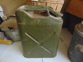 US Army  Water  Can