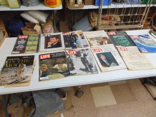 Kennedy  life Magazines and More