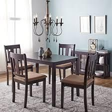 Porch   Den Greenfield 2 chairs and table only piece dark brown as is