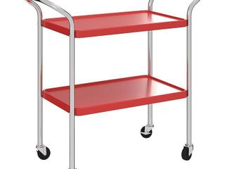COSCO Stylaire 2 Tier Serving Cart  Retail 115 49