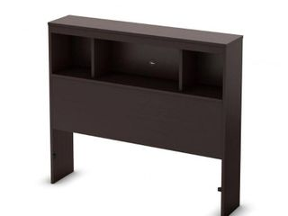 South Shore Spark Bookcase Headboard only Retail 134 49 brown