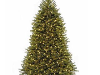 fir tree with clear lights 7 5 Foot   Green  Retail 234 48