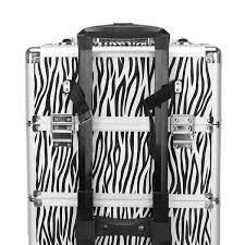 Professional Rolling Train Cases Makeup Artist Cosmetic Trolley Cosmetic Case  Retail 86 49