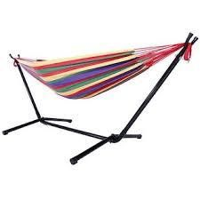 Shella 2 person Portable Garden Swing Hammock with Stand by Havenside Home   N A  Retail 106 99