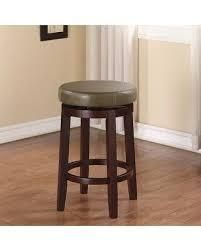 Army Green linon Dorothy Backless Counter Stool Rice Swivel Seat Retail  82 99