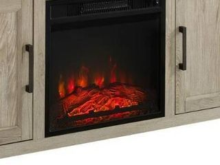 fireplace insert only black