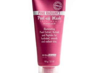 BioMiracle Pink Radiance Peel off Mask Treatment 3 5oz