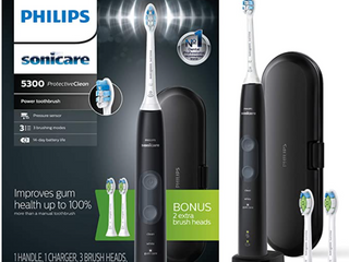 Philips Sonicare Hx6423 34 Protectiveclean 5300 Rechargeable Electric Toothbrush