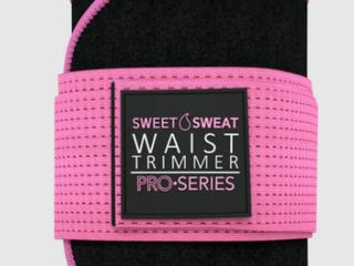 Sweet Sweat Pro Series Waist Trimmer   Black Pink   Xl XXl