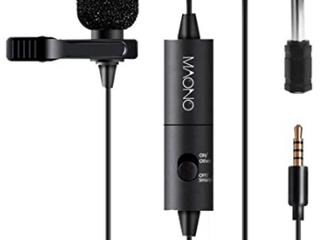 Maono Vision Drives Technology lavalier Microphone  Au 101