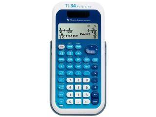 Texas Instruments Ti34mv Scientific Calculator With Multi line Display