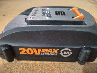 Worx 20V Max lithium Battery Pack