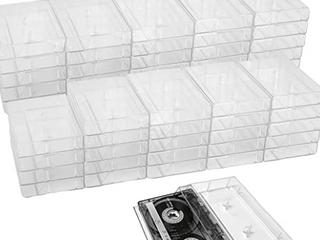 Cassette Tape Holders  6 Boxes Of 10
