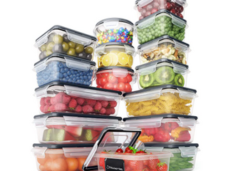 Chefs Path 16 Pack Food Storage Containers Set For Kitchen