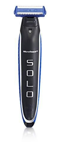 Micro Touch SOlO Men s Rechargeable Full Body Hair Trimmer  Shaver and Groomer  123456