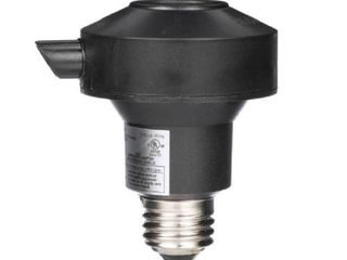 Woods 1472WD Outdoor Floodlight Control Socket with light Sensor Photocell