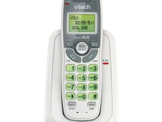 VTech   CS6114 DECT 6 0 Digital Cordless Phone With Caller ID Call Waiting   White