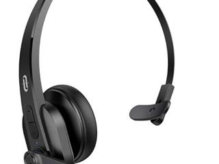 Taotronics Trucker Bluetooth Headset With Microphone  Phone Wireless Headset
