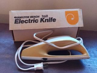 Hamilton Beach Scovill Electric Knife Not Tested