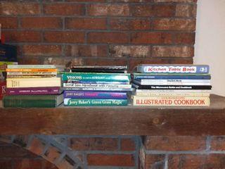 lot of Books Cookbooks Gardening Astrology
