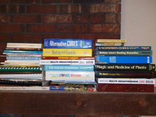 lot of Books Cooking Health Secrets Home Remedies